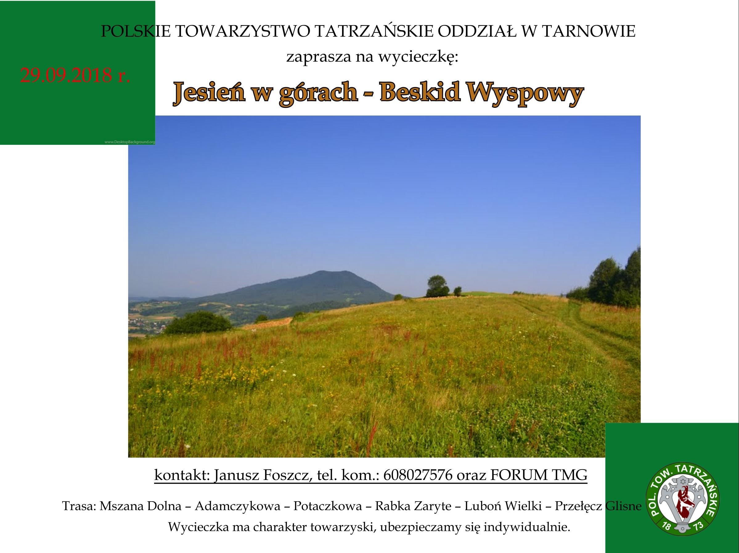5cdfa62abbc3b6 Polskie Towarzystwo Tatrzańskie - Oddział PTT w Tarnowie